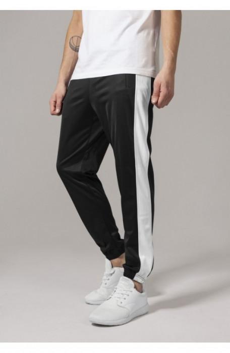 Track Pants negru-alb M