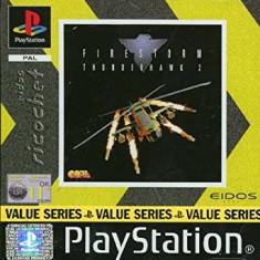 Firestorm Thunderhawk 2 - Eidos Richochet  - PS1 [Second hand], Multiplayer, Simulatoare, Toate varstele