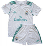 Compleu Echipament Fotbal Real MADRID RONALDO 2017-2018  pt. copii 13-14 ani, YXXL, Set echipament fotbal