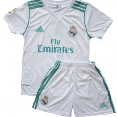 Compleu Echipament Fotbal Real MADRID RONALDO 2017-2018 pt. copii 12 la 15 ani, Marime: YXXL, YXL, Set echipament fotbal
