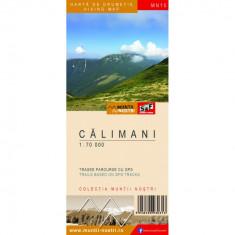 Schubert & Franzke Harta Muntii Nostri Harta Muntilor - Calimani MN15