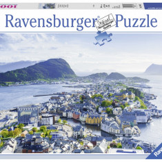 Puzzle Ravensburger Alesund - 1000 piese