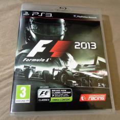 Formula 1 2013 PS3, original! Alte sute de jocuri, Curse auto-moto, 12+, Multiplayer, Codemasters