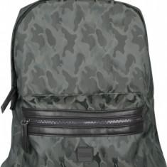 Camo Jacquard Backpack inchis-oliv-camuflaj, Khaki