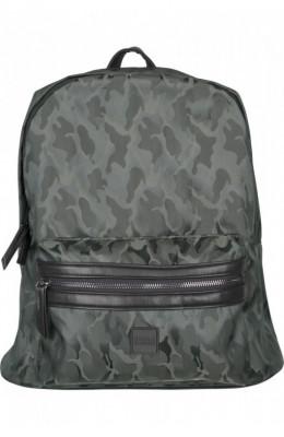 Camo Jacquard Backpack inchis-oliv-camuflaj foto