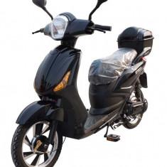 Bicicleta electrica, tip scuter, fara carnet si inmatriculare ZT-09-A CLASSIC NEGRU