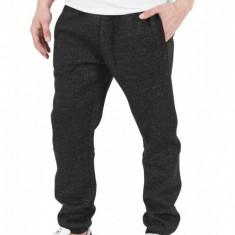 Pantaloni de trening melange gri carbune M