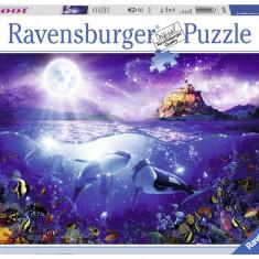 Puzzle Ravensburger Balene - 1000 piese