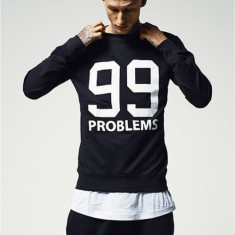 Bluza barbati rap 99 Problems negru XL