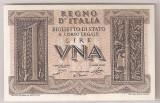 ITALIA 1 LIRA REGNO D'ITALIA 1939 UNC