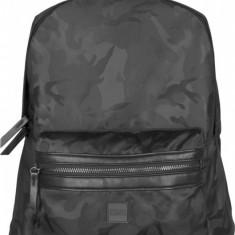 Camo Jacquard Backpack negru-camuflaj