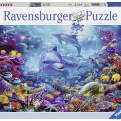Puzzle Ravensburger Lumea sub apa - 1000 piese
