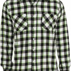 Camasi urban tricolor negru-alb-verde deschis 2XL, XXL, Maneca lunga