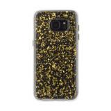 Husa Fashion dual layer Case-Mate Karat pentru Samsung Galaxy S7 Edge, Gold, Plastic, Carcasa, Case-Mate