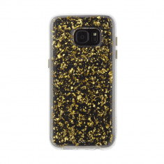 Husa Fashion dual layer Case-Mate Karat pentru Samsung Galaxy S7 Edge, Gold - Husa Telefon Case-Mate, Plastic, Carcasa