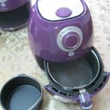 Friteuza pe aer cald 2,2 l,KOCHWERK + cos de paine, violet,vezi descriere