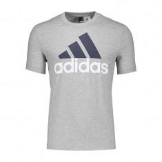 Tricou Adidas Ess Linear-Tricou Original-Tricou Barbat Bumbac- S98738, L, M, S, XL, XXL, Maneca scurta