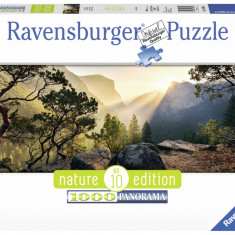 Puzzle Ravensburger Parcul Yosemite - 1000 piese