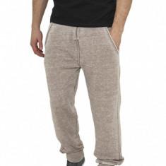 Pantaloni de trening cu elastic jos maro deschis M