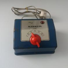Transformator Marklin model 6177 30 VA, pentru trenulete electrice, H0 - 1:87, Accesorii si decor