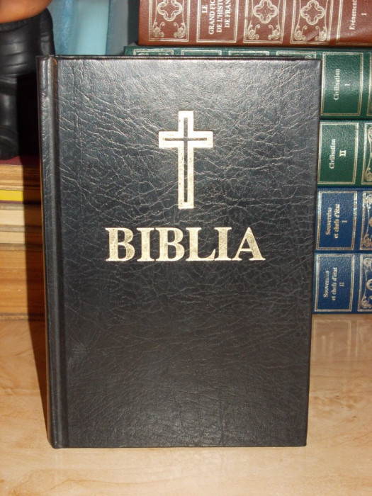 BIBLIA SAU SFANTA SCRIPTURA , TEOCTIST - 1991