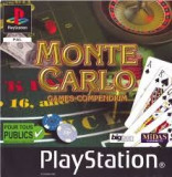 Monte Carlo - Games Compendium  - PS1 [Second hand], Multiplayer, Arcade, Toate varstele