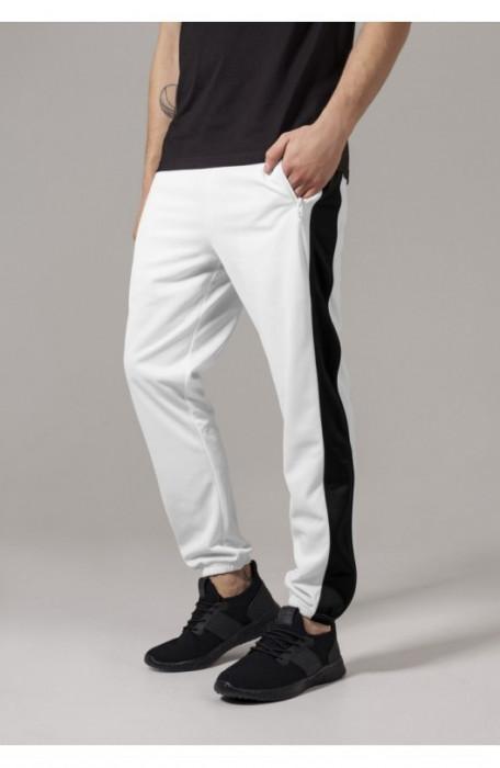 Track Pants alb-negru 2XL