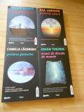 JOHAN THEORIN ; HAKAN NESSER ; CAMILLA LACKBERG ; ASA LARSSON - 4 VOL.
