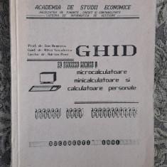 Ghid De Operare Pentru Microcalculatoare MINICALCULATOARE SI CALCULATOARE - Carte sisteme operare