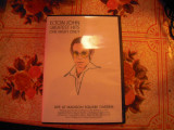 DVD original ELTON JOHN - Live at Madison Square garden - adus SUA sistem NTSC