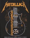 Patch Metallica - Hetfield Guitar