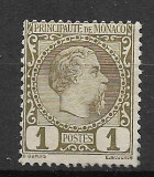 Monaco 1885- Charles III, Nestampilat