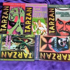 Lot 5 carti Tarzan  vol 3, 4, 5, 6, 7 - Edgar Rice Burroughs