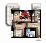 Apartament Nou Copou, 2, Parter