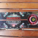 Xfx HD 5870 1gb ddr5 256 bits - Placa video PC XFX, PCI Express, AMD
