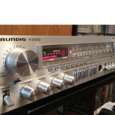 Amplificator/Tuner Stereo, marca GRUNDIG R 2000 - Impecabil/Vintage/made in RFG - Amplificator audio Grundig, 41-80W