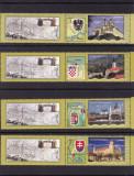 ROMANIA 2010  LP 1863 e  STEMELE DUNARII  I  SERIA  CU VINIETE  MNH, Nestampilat