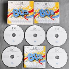 100 Essential Hits of the 80s 5CD (Compilatie muzica Sony) - Muzica Pop sony music
