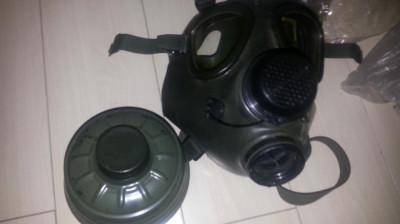 Masca militara de gaze model 85 (noua) foto