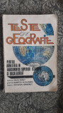 Teste De Geografie Pentru Admiterea In Invatamantul Superior -NEGUT ,ALEXANDRU