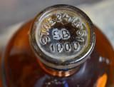 Sticla veche farmacie sau laborator - STAS 2413-51 SB 1000 ml