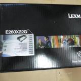 Kit fotoconductor Lexmark E260X22G nou, original, sigilat