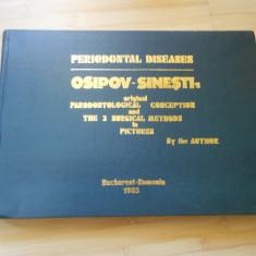 PERIODONTAL DISEASES - OSIPOV - SINESTI - 1985