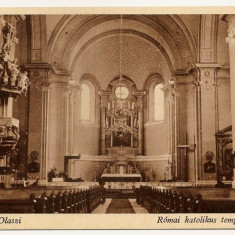 Oradea Nagyvarad Olaszi Biserica Romano Catolica Olosig - Carte Postala Crisana 1904-1918, Necirculata, Printata