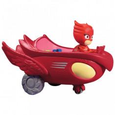 Figurina Bufnita + vehicol Bufni Planor - Eroi in Pijama, Disney