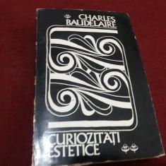 CHARLES BAUDELAIRE - CURIOZITATI ESTETICE