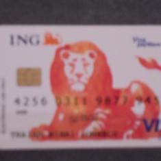 CARD BANCAR ING- VISA PAY WAVE ELECTRON.