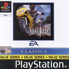 Road Rash CLASSICS - PS1 [Second hand], Multiplayer, Curse auto-moto, Toate varstele