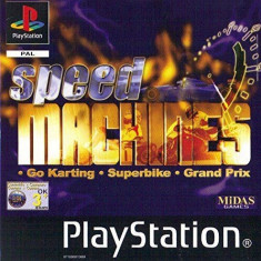 Speed Machines  - PS1 [Second hand] fm,cod, Multiplayer, Curse auto-moto, Toate varstele