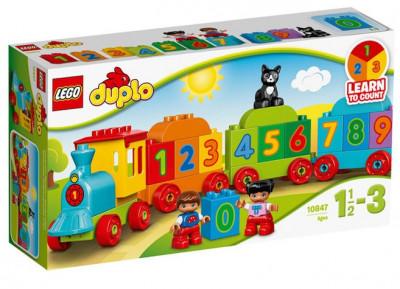 Trenul cu numere foto